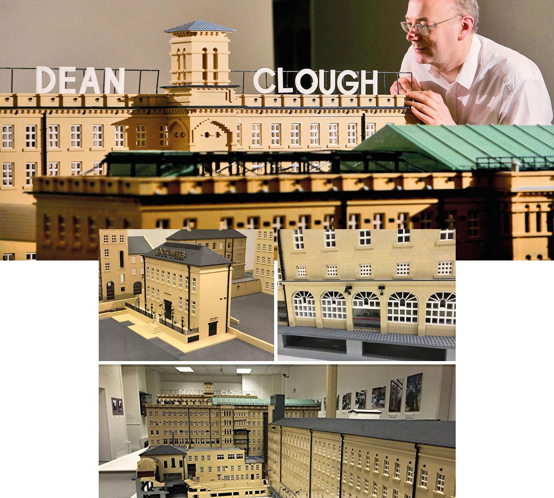 Dean Clough Lego Model in D Mill Halifax