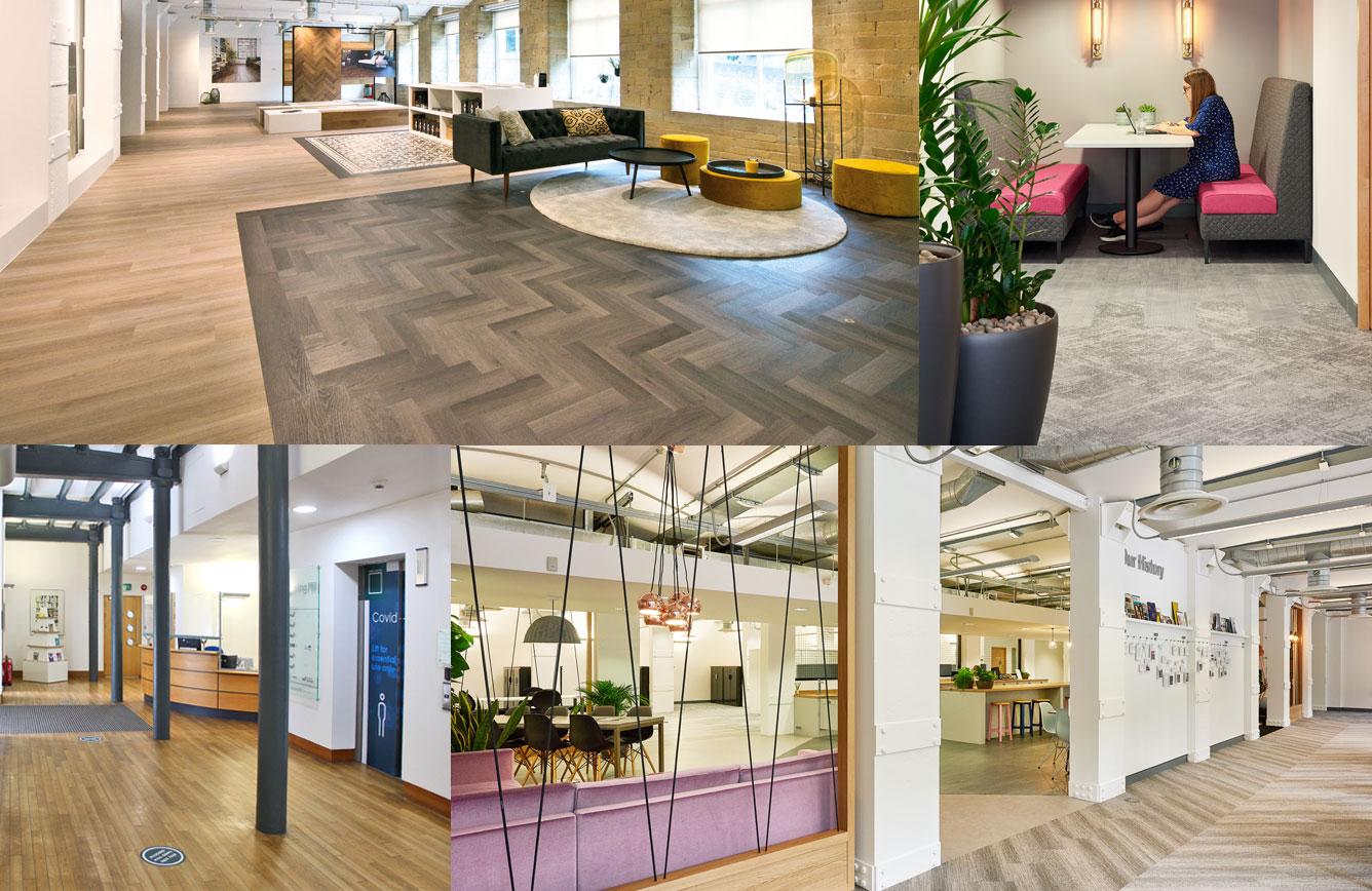High spec workspaces within Dean Clough