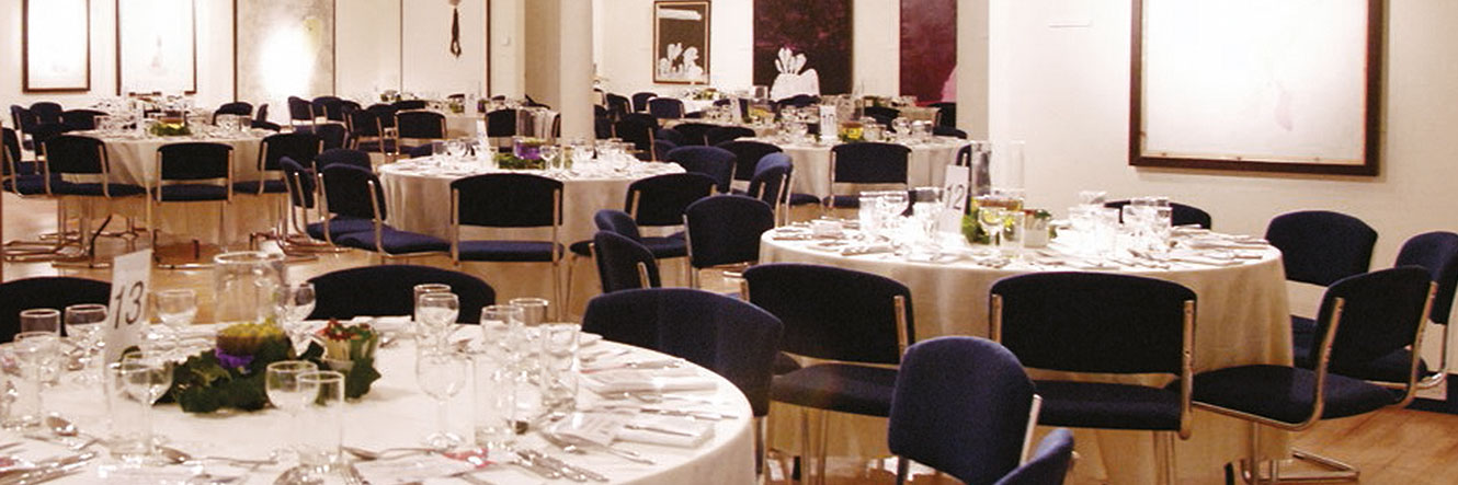 Crossley Gallery - A versatile event space for receptions and dinners