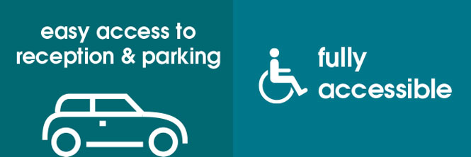 Dean Clough event spaces are fully accessible with reception and parking