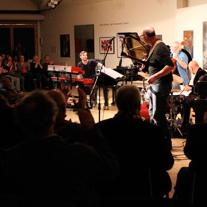 Jazz evenings in the Crossley Gallery