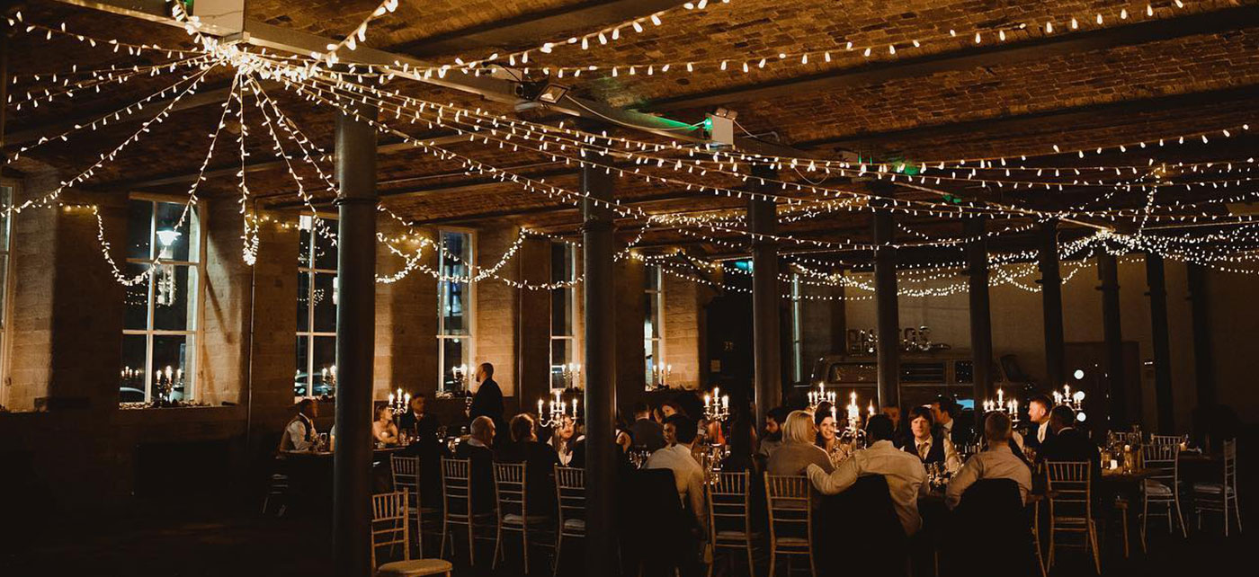 The Arches event space - wedding