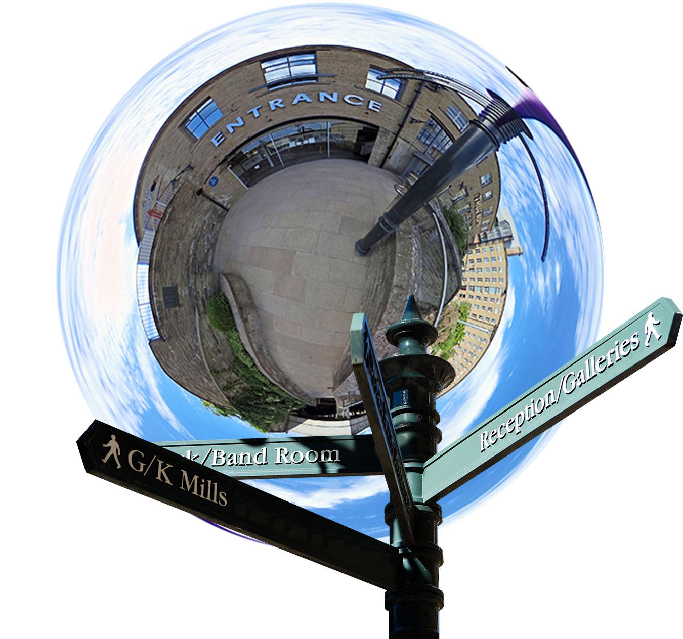 Virtual tour of Dean Clough's Art Galleries