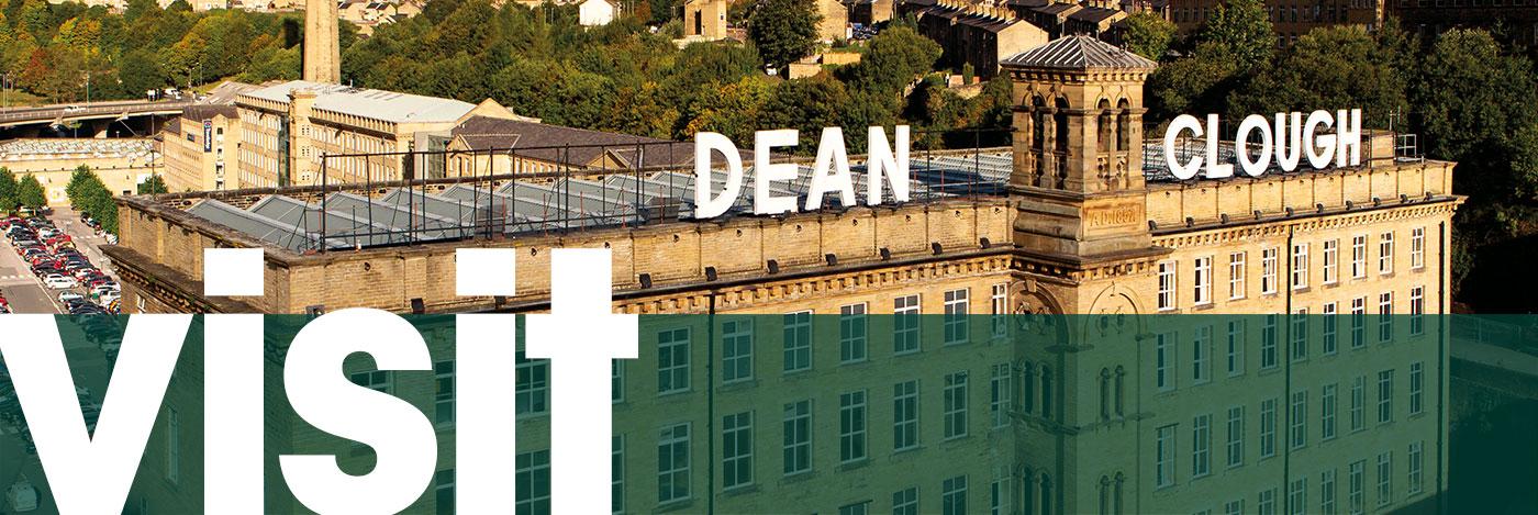 Visit Dean Clough for arts, leisure or business