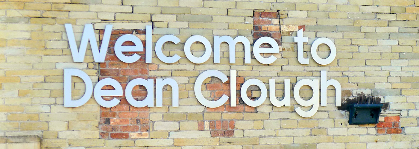 Welcome to Dean Clough, Halifax, Yorkshire