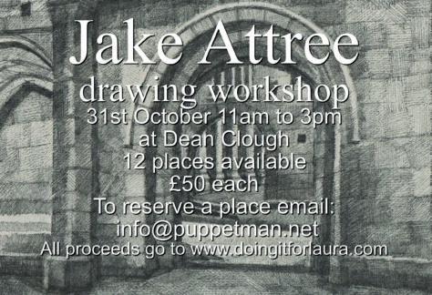 Jake Attree Drawing Workshop