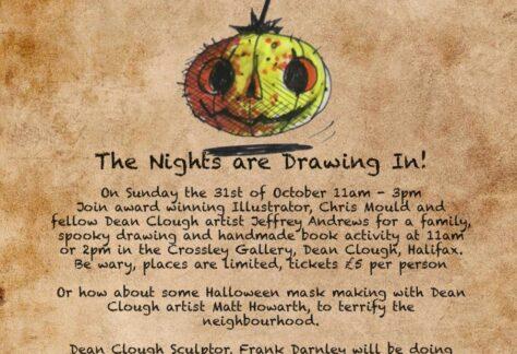 Dean Clough Artists Halloween Event